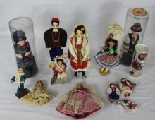 Collection Vintage Foreign Country Dolls