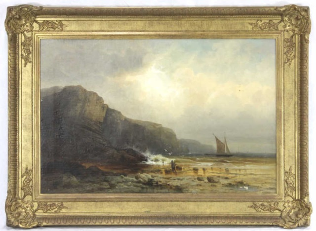 Samuel Lawson Booth - English Coastal Landscape