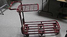 4 wheel cart .
