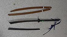 2 Practice swords + Sword .