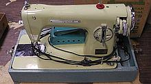 Wizard sewing machine, made in Japan .