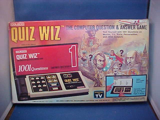 Coleco Quiz Whiz Game