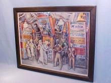 Reginald Marsh 1936 Carnival print