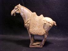 Early pottery horse figure