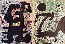 Joan Miro Lithographs From
