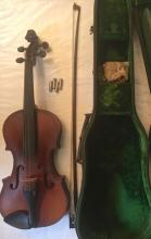 Stradivarius (copy) Violin, Bows In Original Case