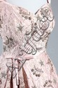 A Harald couture lavishly embroidered pale pink