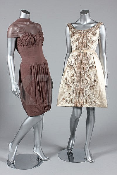 A group of Rahvis couture, late 60s-early 60s,