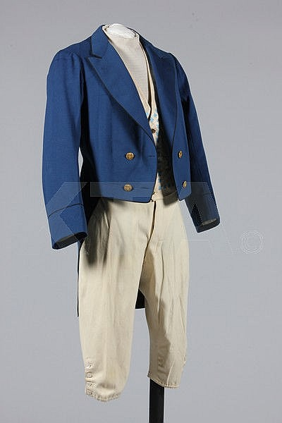 A gentleman's livery, French, circa 1870,