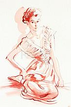 A René Bouet Willaumez fashion illustration of a