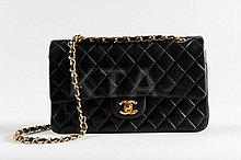 A Chanel 2.55 quilted leather shoulder bag,
