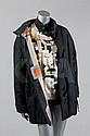 An Hermes printed silk shirt and matching jacket,