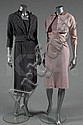 A group of pink and grey daywear, 1950s,