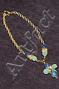 A necklace, probably Gripoix, 1960s, marked Sens
