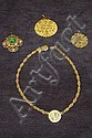 A Chanel gilt necklace, signed and 3632, 41cm,