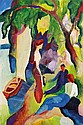 August Macke(1887 Meschede/Sauerland - 1914, August Macke, Click for value