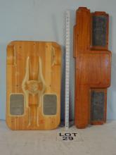 Wood rocker base and step