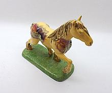 """Aynsley """"Orchard Gold"""" model horse, 8"""" long complete with original box"""
