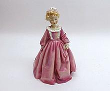 """A Royal Worcester Figurine, Grandmother's Dress, No 3081, modelled by F G Doughty, 6 ½"""" high"""