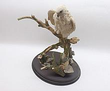 """Country Artists model """"Arctic Prince"""" by David Ivey, raised on a plinth base, approx 12"""" high"""