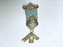 A hallmarked Silver Gilt and Enamelled Masonic Jewel – Belfairs Lodge No 4750, circa 1974
