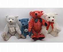 Modern Steiff Collectors bears to include Club Edition 1994 in blue mohair, 1911