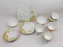A Mixed Lot of early 20th Century Tea Wares, to include a quantity of Lawleys fl