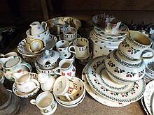 A large mixed lot of Bridgewater Table Wares to include various Bowls, Cups, Mug