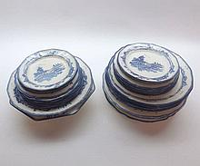 Quantity of Royal Doulton Norfolk pattern Table Wares, comprising Octagonal