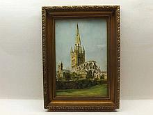 A modern Framed Royal Worcester Plaque, produced for the Guild of Specialis