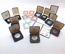 A Mixed Lot of various Commemorative Medallions, produced for National Trus