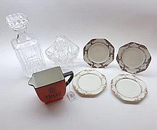 A Mixed Lot comprising: a Carltonware Haig Whiskey Advertising Jug, four Cr