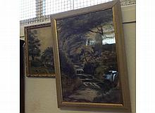 Two late 19th/early 20th Century framed watercolour studies depicting River