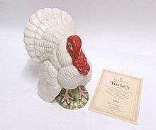 """A Royal Doulton Model, """"The Turkey"""", D6889, white"""
