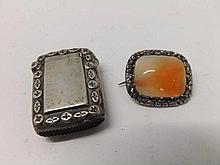 Late Victorian small Silver Vesta of rectangular s