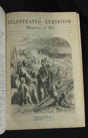 BOOKS : THE ILLUSTRATED EXHIBITOR, 1852, vol 1 and