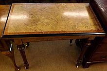 A Victorian Aesthetic style Card Table, crossband