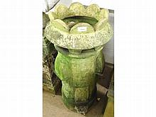 A Vintage Chimney Pot of circular form, with a sp