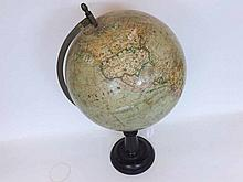 An early 20th Century French Terrestrial Globe, J