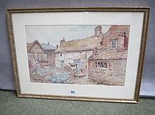 ADA MARY Galton C19th/20th watercolour 'Old