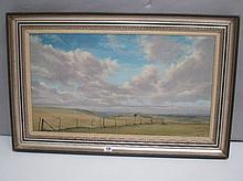 GEOFFREY I. LILLEY (C20th) British oil on canvas