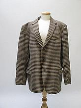 Tweed jacket with poachers pocket, by James