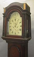 C19th mahogany longcase clock by J. Harris,