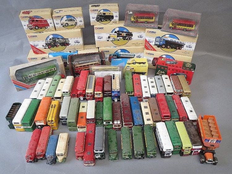 Qty of Corgi model toy vehicles, some in original