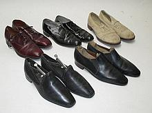 Vintage cricket shoes & four pairs of vintage
