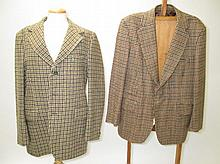 Two gents sport jackets, by Burton & Pitlochry