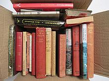 Large qty of hunting books & racing books,