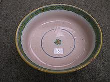 Quimper faience fruit bowl