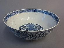 Qty of Blue and white china & sundries sold for