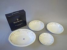 Qty boxed Royal Doulton Caprice fine bone china